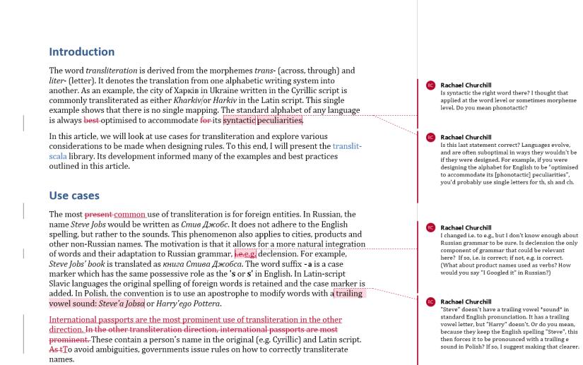 transliteration page 1